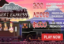 Weekly Bonus Bulleting, $150K Orient Express and Free Spins