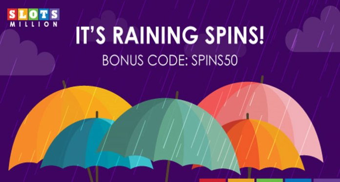 Over 100 Classic IGT Slots, Plus Slots Million's Raining Spins Promotion
