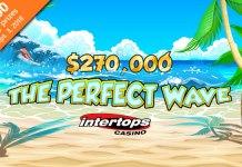 Intertops Casinos $270,000 Perfect Wave Bonus Competition