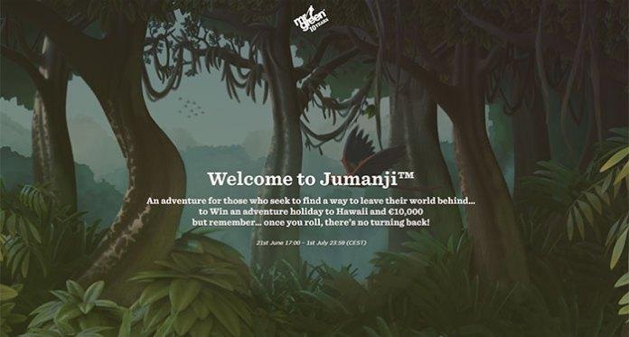 Play Jumanji and Win a Trip to Hawaii at Mr Green Caino