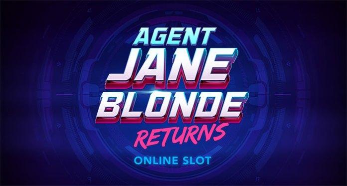 Microgaming's Leading Heroine Agent Jane Blonde Returns