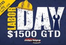 Intertops Poker $1500 GTD Labor Day Poker Tournament
