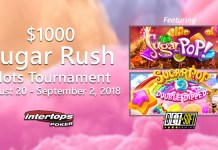 Intertops Poker $1000 Sugar Rush Slots Tournament