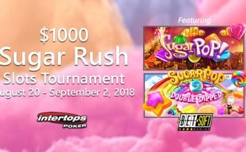 Intertops Poker $1000 Sugar Rush Slots Tournament