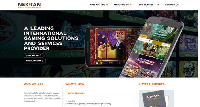 Nektan PLC Integrated Games from Pragmatic Play