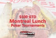 Intertops Poker $500 GTD Montreal Lunch Poker Tournament