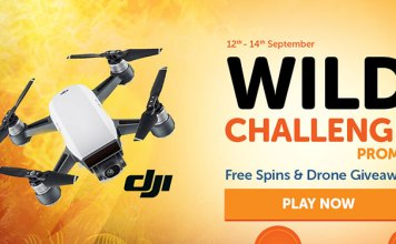 WildSlots Wild Challenge Promotion Starts Now, Win a DJI Spark Drone