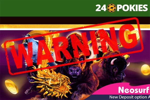 24pokies Casino Complaint