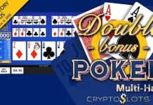 New Double Bonus Poker Multi-Hand Introductory Bonus