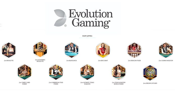 Evolution Gaming, Stars Group form New Partnership in New Jersey