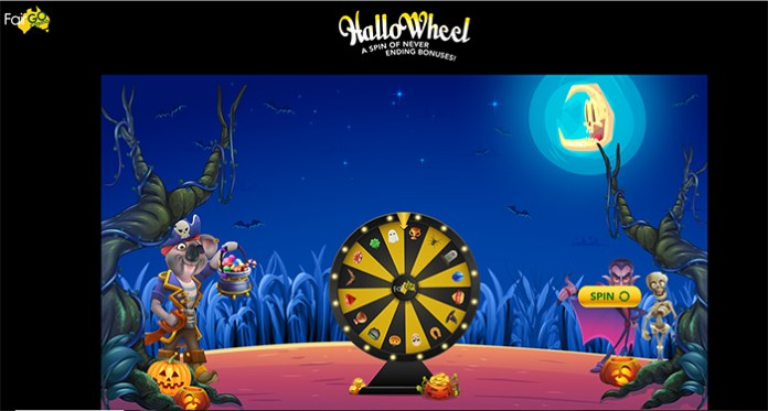 HalloWheel, Free Spins, Vegas Magic and a $1500 Graveyard Smash