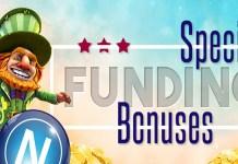 Downtown Bingos Special Funding Bonuses, 25% Universal Bonus