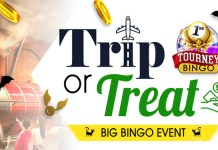Trip or Treat to Win a Fabulous Big Bingo Prize at Downtown Bingo