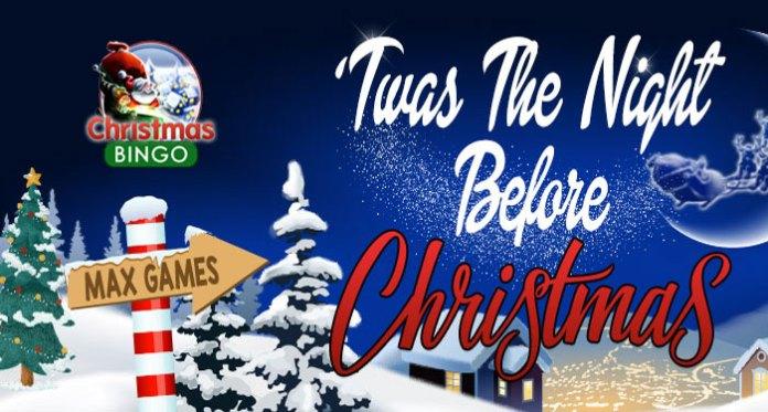 Downtown Bingo Christmas Eve's 'Twas The Night Before Christmas Event