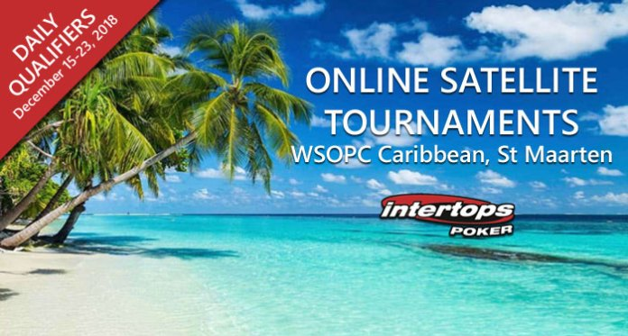Win Your Way to the Caribbean - WSOPC St Maarten Satellites Begin Saturday