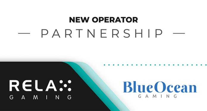 Relax Gaming Reaches a New Agreement with Blue Ocean Gaming