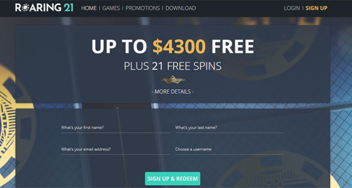 Play Your Favorite Games with an Extra 60% at Roaring21 Casino