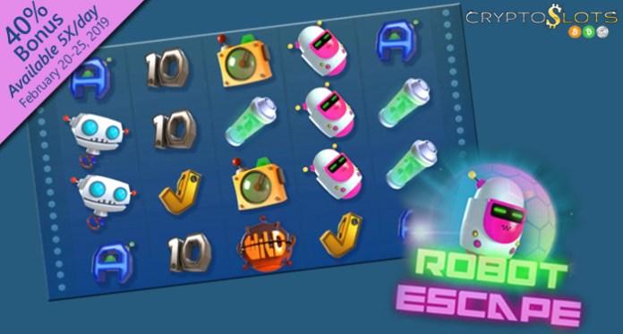 Weekly Bonus and Raffle, Plus Introductory Bonuses on Robot Escape!