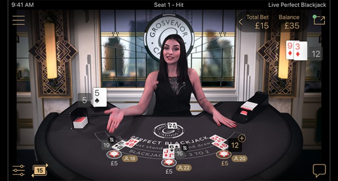 Preview of NetEnt's Perfect Blackjack at Grosvenor Casinos