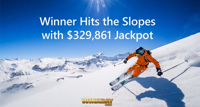 WinADay Casino Pays Out a Record Breaking Jackpot Worth $329,861