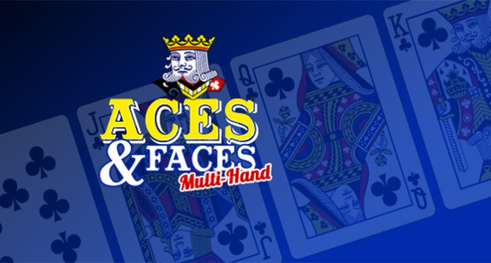 Play Aces & Faces Multi-Hand at Slotland with $15 Free
