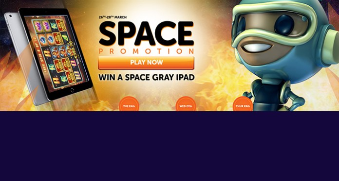 WildSlots Casino New Space Promo, Free Spins, Win an iPad