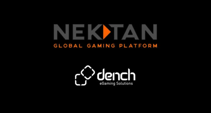 Nektan Confirms Commercial Partnership with Dench eGaming Solutions