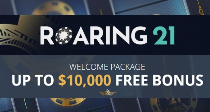 Play Roaring 21 Casino This Week with an Extra 80% Slots Bonus
