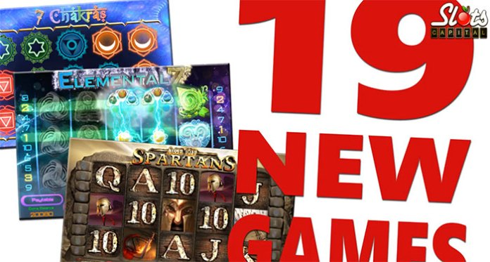 19 New Slot Titles Now at Slots Capital, Play with Introductory Bonuses
