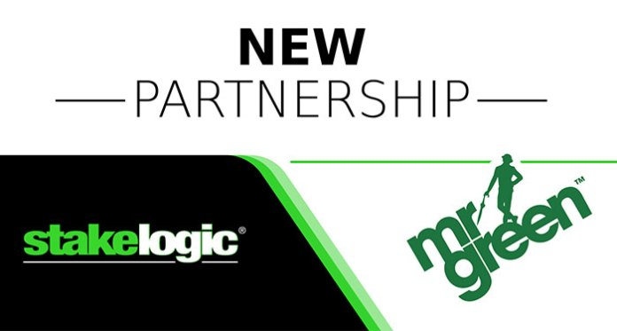 Mr Green and Stakelogic Partner Up for Strategic Content Sharing