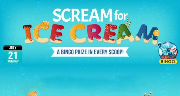 Celebrate National Ice Cream Day at Downtown Bingo