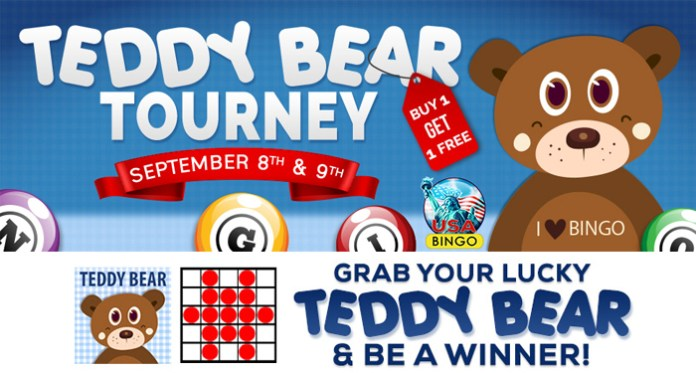 Join Downtown Bingo's Teddy Bear Tourney This Weekend