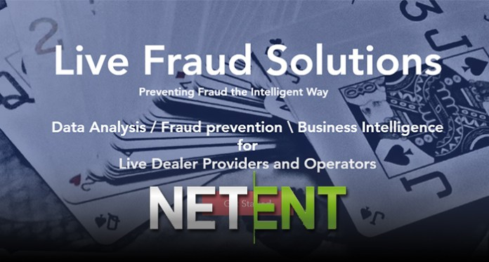 NetEnt Live Partners with Live Fraud Solutions