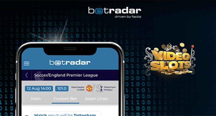 Videoslots Announces Partnership with Betradar to Launch Sportsbook