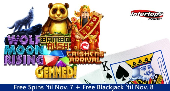Intertop Poker, Two New Chinese Slots Featured during Free Spins Week