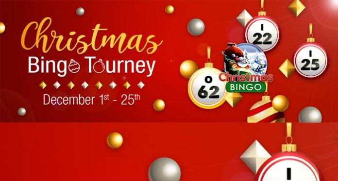 Join the Christmas Bingo Tourney Daily in the Christmas Bingo Room