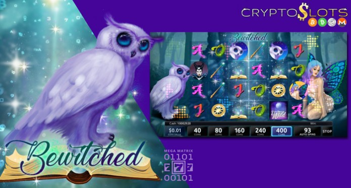 Cryptoslots Cryptocurrency Casino Adds Enchanting New 'Bewitched'