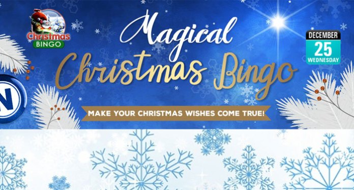 Magical Cash Prizes This Christmas at Downtown Bingo