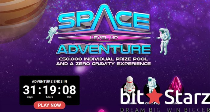Explore Massive Wins with Bitstarz' Space Level Up Adventure