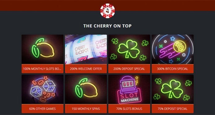 Get a Sweet Deal on Monthly Specials at Cherry Jackpot Casino
