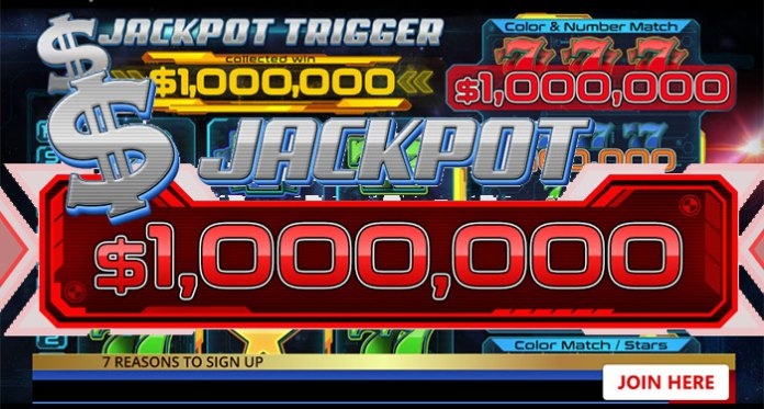Play CryptoSlots Jackpot Trigger and Win A Million