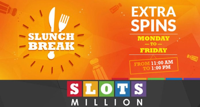 Play Slots Million on Your Lunch Break for Tasty Slot Spins