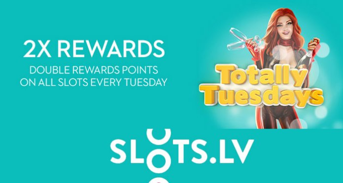 Totally Tuesday is Going to Be Totally Awesome at Slotslv