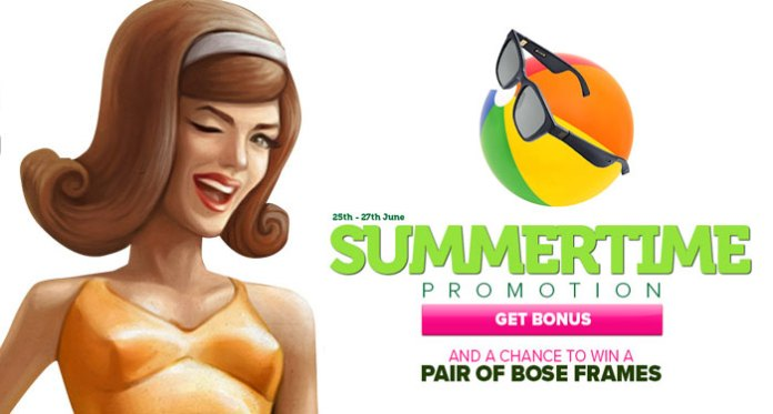 Special Deposit Bonuses + Win a Pair of Bose Frames from CasinoLuck