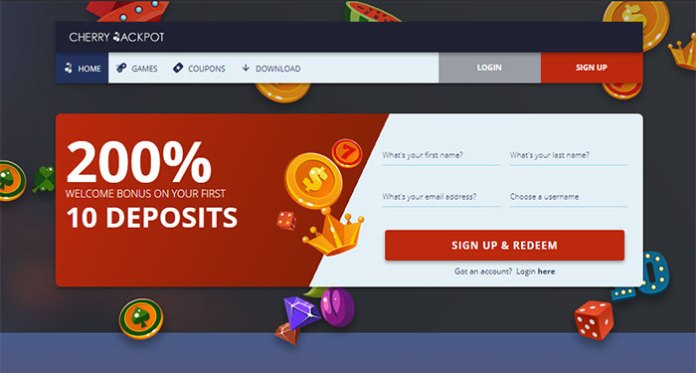 Join Cherry Jackpot Casino for a Huge Welcome Bonus + Instant Play Jackpots