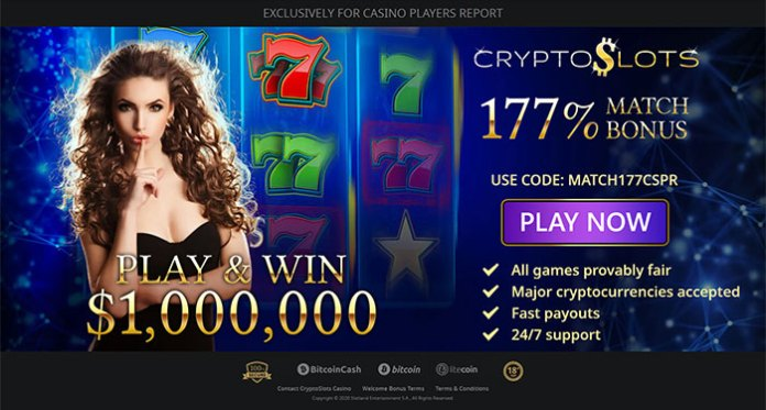 CryptoSlots' Weekly Cashback is Something to Talk About