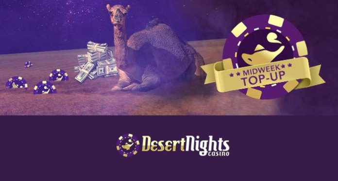 Grab Yourself an Extra 250% When You Play Desert Nights Casino