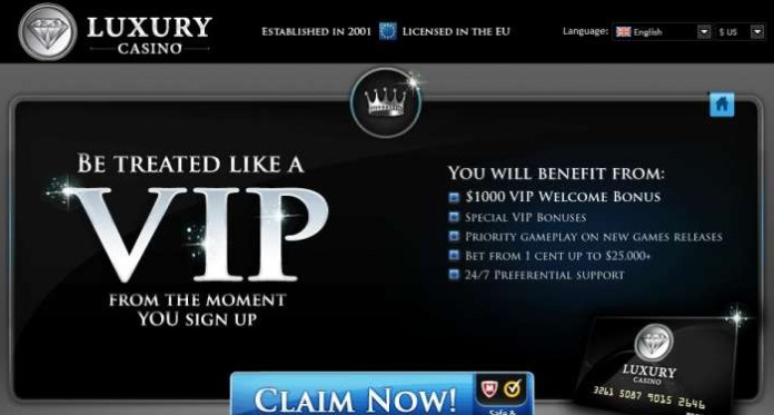 Become a Part of Luxury Casinos Winner List