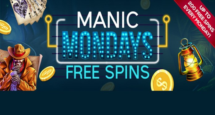 Hurry Up and Get Your Free Spins at Vegas Crests Casinos Maniac Monday