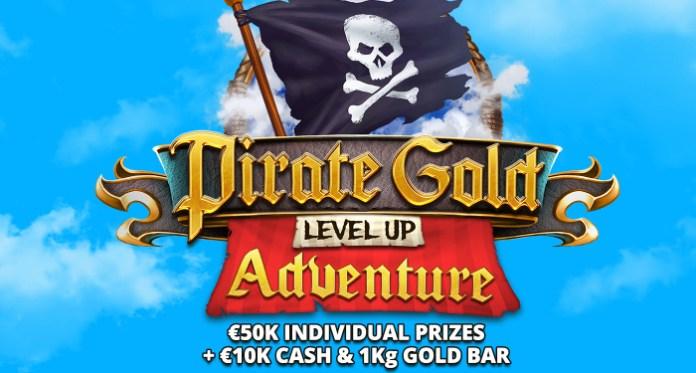 $10K Pirate Gold Level Up Adventure at Bitstarz Casino